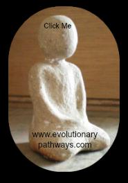 Mindfulness Meditation Statue